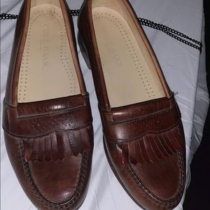 Other - Cole Haan Brown Leather 11 work shoes Loafers
